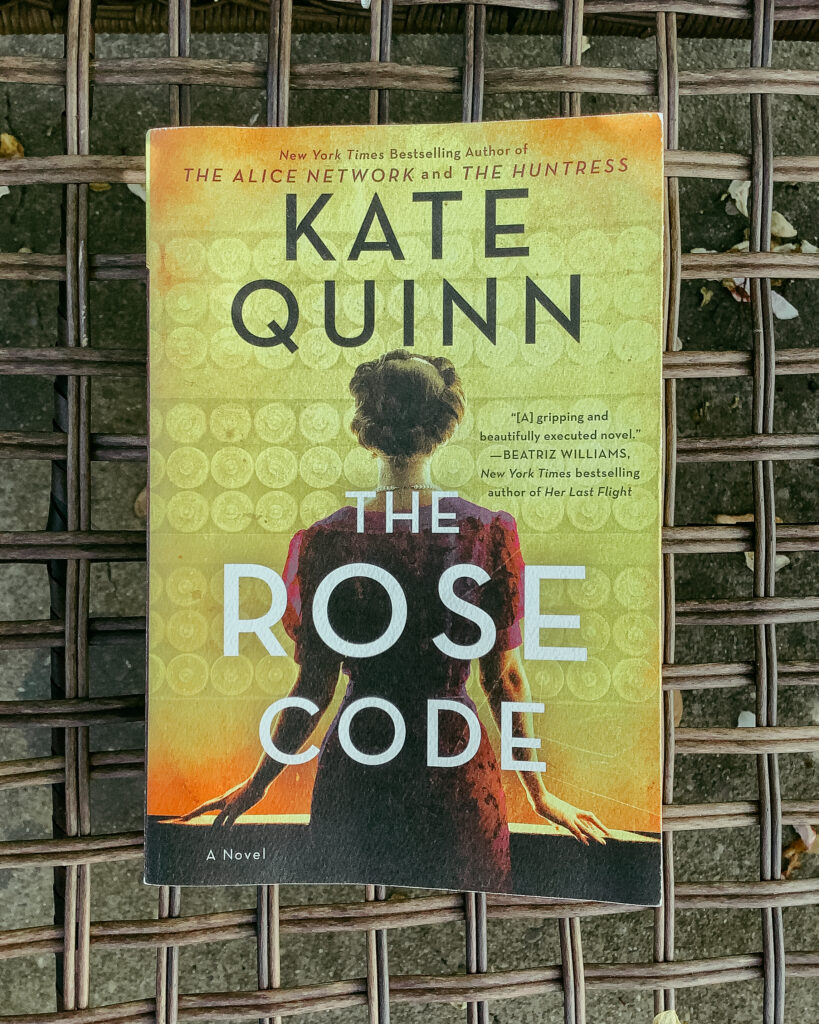 Book Review: The Rose Code by Kate Quinn